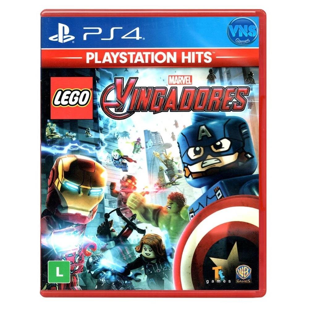 Jogo para PS4 Lego Marvel Vingadores Hits - Warner