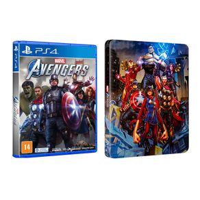 Jogo para PS4 Marvel's  Avengers Steelbook - Square Enix