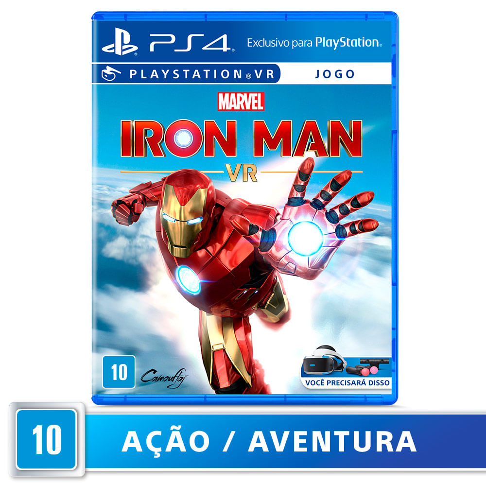 Jogo para PlayStation VR Marvel's Iron Man VR - Sony