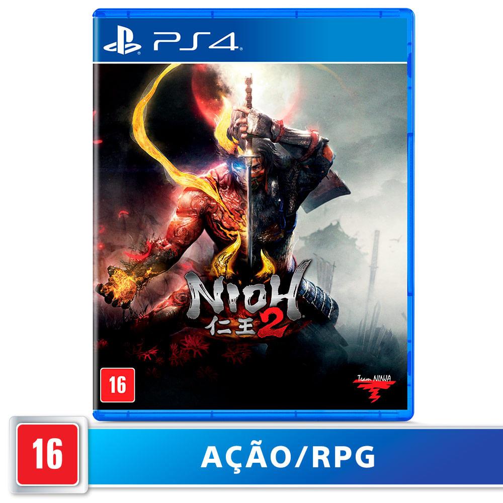 Jogo para PS4 Nioh 2 - Team NInja