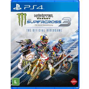 Jogo para PS4 Monster Energy Supercross 3 - Milestone