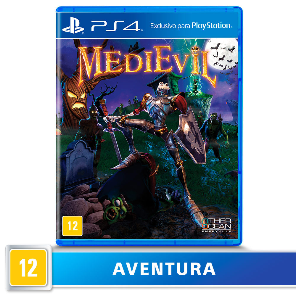 Jogo para PS4 Medievil - Other Ocean