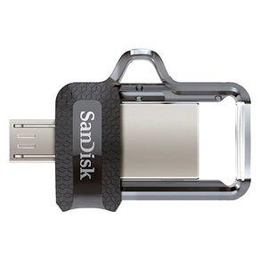 Pen Drive Ultra Dual Drive G46 32GB USB 3.0 Preto Sandisk