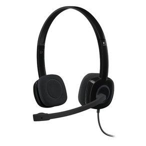 Fone de Ouvido Headset H151 P2 Preto Logitech