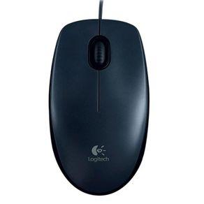 Mouse Optico USB M90 Cinza Logitech (NAC)