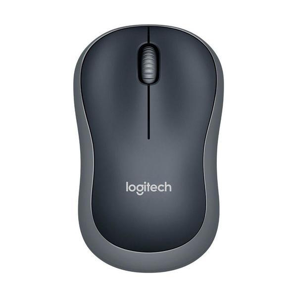 Mouse Sem Fio M185 Cinza  Logitech