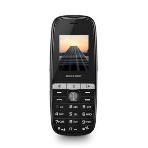 """Celular UP Play Dual MP3 com radio FM e camera Tela 1.8"""" Preto Multilaser"""
