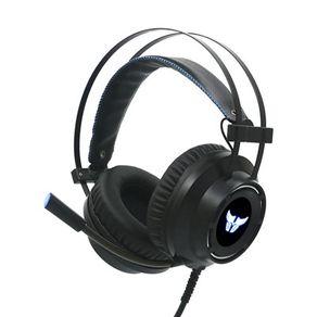 Fone de ouvido Headset com fio Gaming Combat HS46 Preto Argom