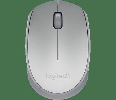 Mouse Optico Wireless M170 Prata Logitech