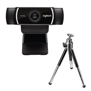 Webcam C922 Pro Stream Full HD 1080p USB Preta Logitech