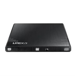 Drive Gravador de DVD Externo EBAU108-11 USB 2.0 Ultra Slim Preto LITEON