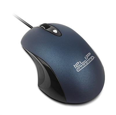 Mouse USB KMO-250BL ClickQuiet Azul Klip Xtreme