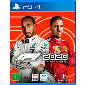 Jogo para PS4 F1 2020 - Codemaster
