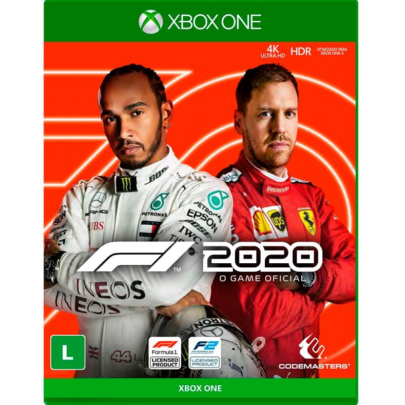 Jogo para Xbox One F1 2020 - Codemasters