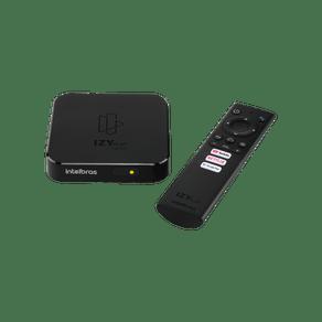 Media Player Smart Box Tv Izy Play Android Full HD Intelbras
