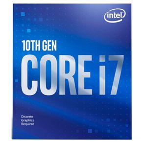 Processador Intel Core I7 10700F (LGA 1200) 2.9GHz, Cache 16MB BX8070110700F Intel