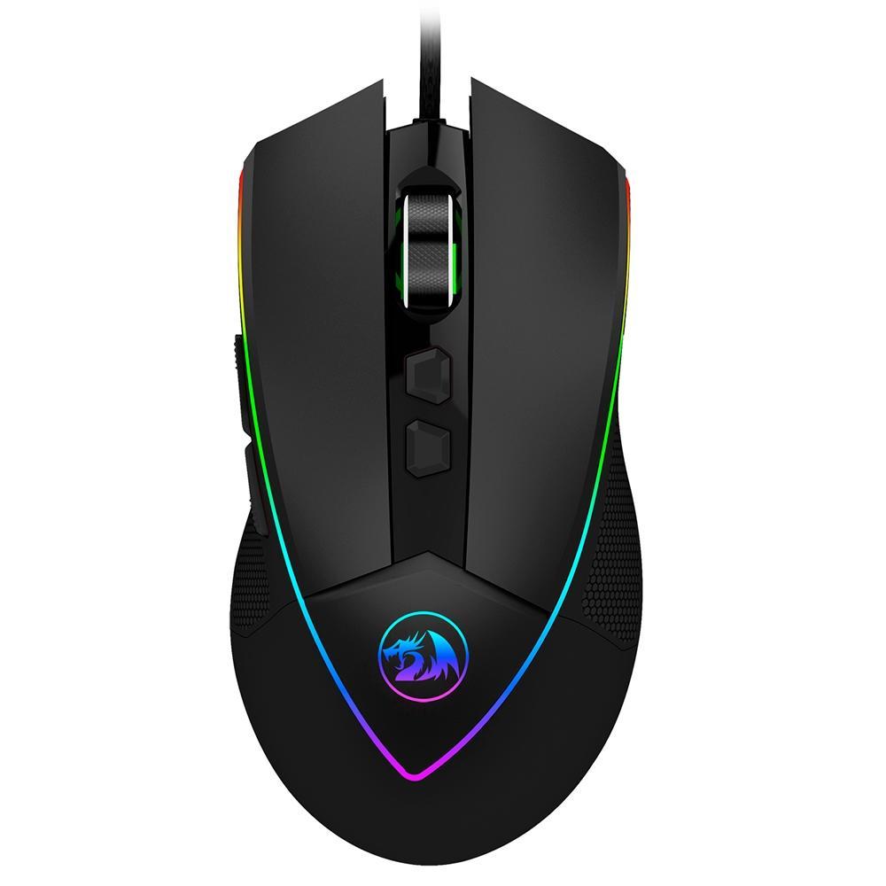 Mouse Gamer USB Emperor RGB Preto - Redragon
