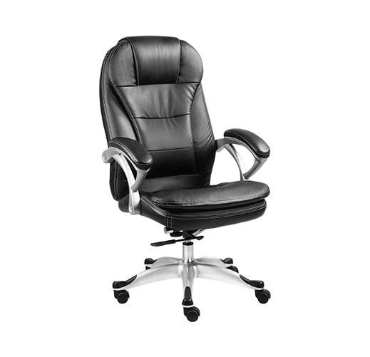 Cadeira Giratoria Executiva com descanso de braco AM160XTK01 Preta - Xtech