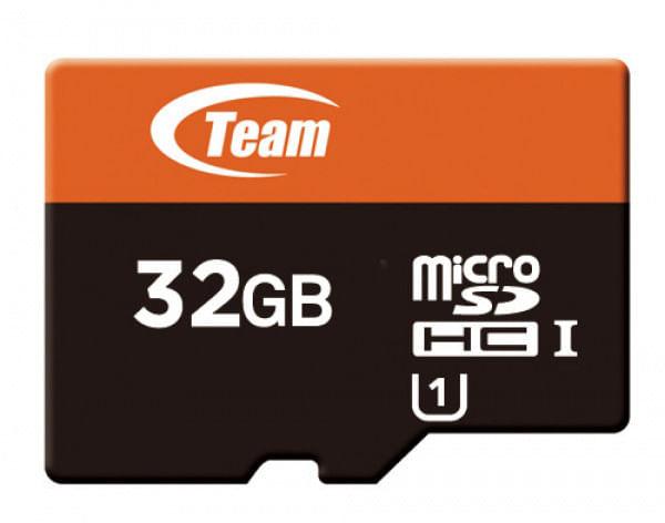 Cartao de Memoria Micro SD HC 32GB Classe 10 Com Leitor Team Group