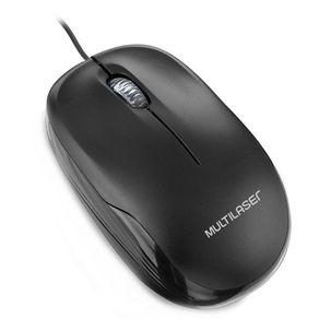 Mouse  USB MO255 Preto Multilaser