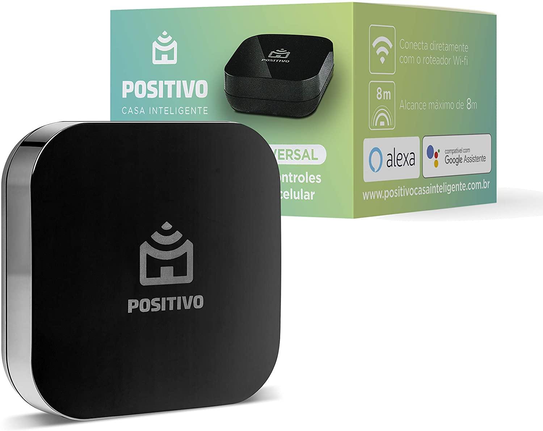 Smart Controle Universal Wi-Fi Preto Positivo