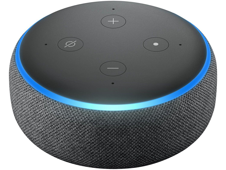 Dispositivo Smart Home Echo Dot 3G Alexa Preto Amazon