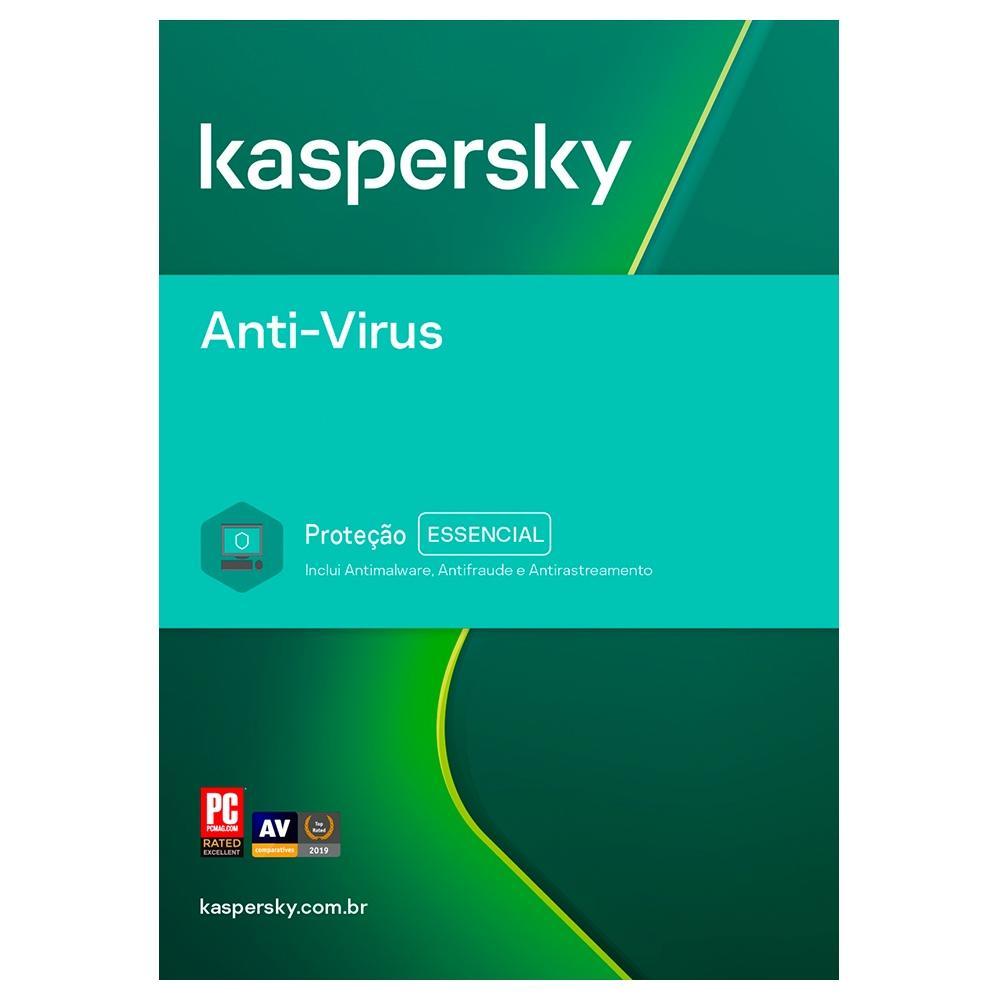 Kaspersky Anti-Virus 1 Usuario 1 Ano - KAV1