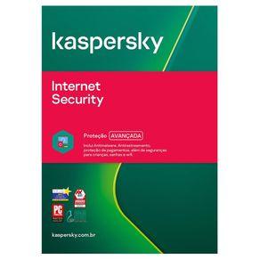 Kaspersky Internet Security  3 Dispositivos 1 Ano