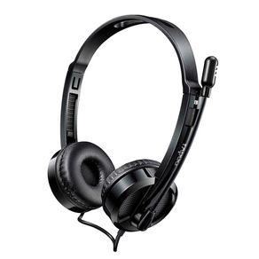 Fone de Ouvido Headphone USB H120 Preto Rapoo