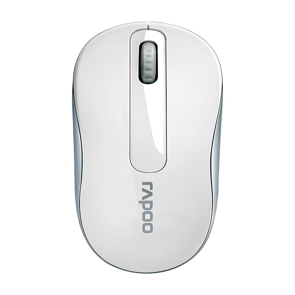Mouse Sem Fio M100 Wireless Branco Rapoo
