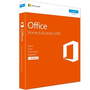 Software Office  Home Business 2016 32-64Bits Microsoft