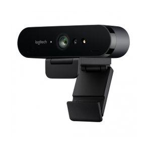 Webcam  Brio 4K Pro USB Preta  Logitech