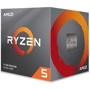 Processador Ryzen 5 3600X AM4 3.8 Ghz Cache 32Mb 100-100000022BOX AMD Nacional