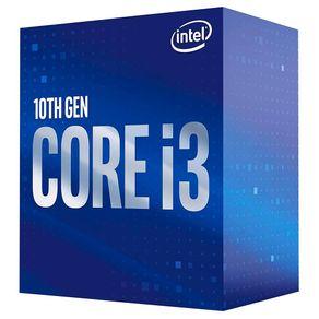 Processador Intel Core i3-10100F LGA 1200 3.60 GHz 4 Core Cache 6MB BX8070110100F Intel - Nacional