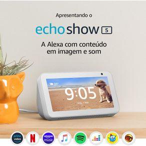 Dispositivo Smart Home Echo Show 5 Alexa 2021 Braco Amazon