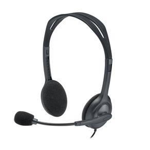 Fone de Ouvido Headphone H111 Preto Logitech