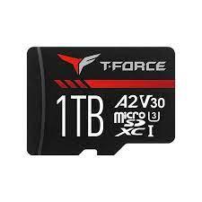 Cartao de Memoria MicroSD XC 1TB com Leitor 2A Gaming T-Force