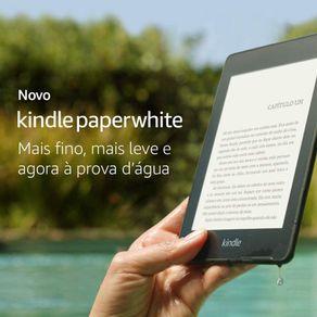 Leitor Digital Kindle Paperwhite 8GB Preta Amazon