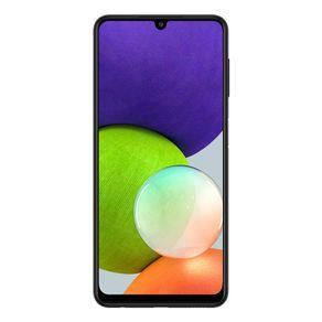 """Smartphone Galaxy A22 Dual 4G Android 11 128GB Cam 48MP+8MP+2MP+2MP+ Frontal 13MP Octa-Core Tela Infinita 6.4"""" Preto Samsung"""