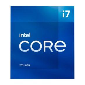 Processador Intel Core i7 11700 LGA 1200 2.5 Ghz Cache 16Mb BX8070811700 Intel - Nacional