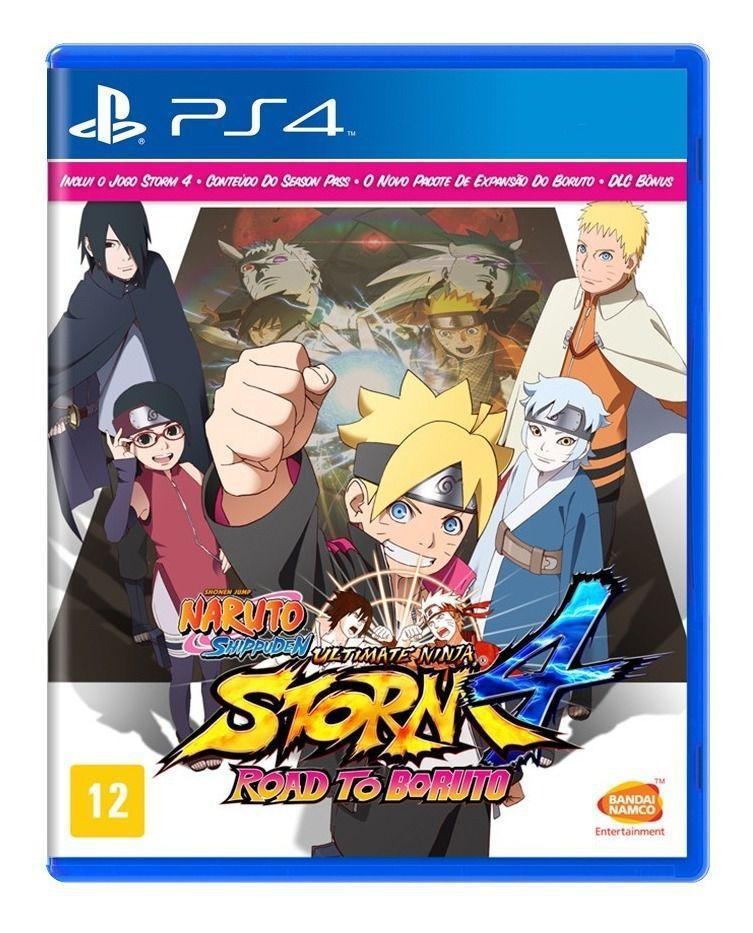 Jogo para PS4 Naruto Ultimate Ninja Storm 4: Road To Boruto - Bandai Namco