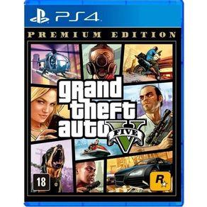 Jogo para PS4 GTA V  Premium Edition - Rockstar