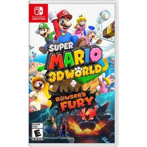 Jogo para Nintendo Switch Super Mario 3D World + Bowsers Fury - Nintendo