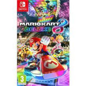 Jogo para Nintendo Switch Mario Kart 8 Deluxe - Nintendo