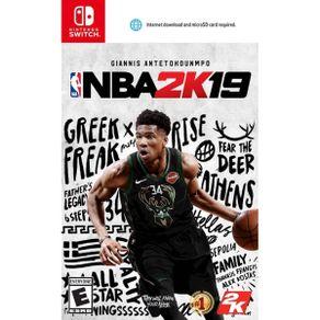 Jogo para Nintendo Switch NBA 2K19 - 2K Games