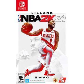 Jogo para Nintendo Switch NBA 2K21 - 2K Games