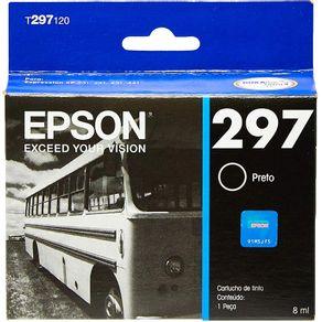 Cartucho de Tinta 297 Preto T297120 Epson