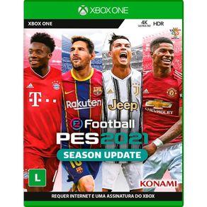 Jogo para Xbox One Pro Evolution Soccer E-Football 2021 - Konami