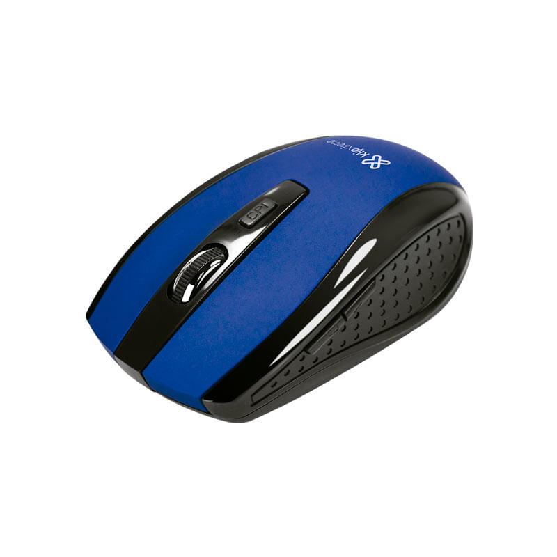 Mouse Sem Fio Nano KMW-340 Azul Klip Extreme