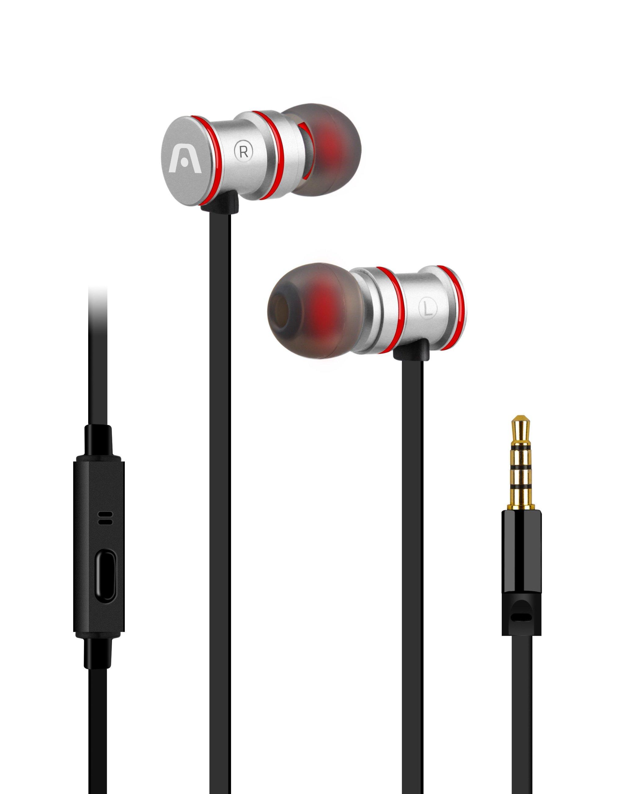 Fone de Ouvido Intra Auricular Ultimate Sound Klass ARG-HS-0628SL Cinza Argom